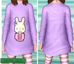 Sims 3 Updates - Juliana Sims : Comfy Kids Sweatshirts by Juliana