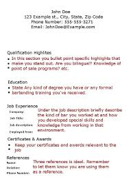 Resume For Bartender Custom Pin By Jobresume On Resume Career Termplate Free Pinterest