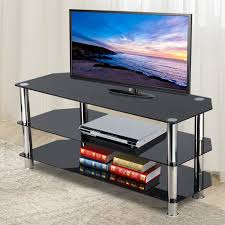 furniture3 tier tv table shelf black tempered glass for 3d lcd led plasma tv stand previous