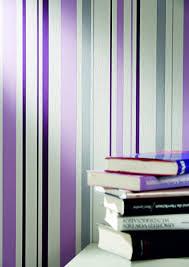 Purple Striped Wallpaper Designs Joyful Stripes Wallpaper In Purple Design By Bd Wall Burke