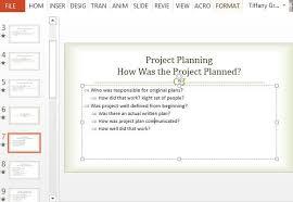 Project Management Post Mortem Template Post Mortem Ppt Major Magdalene Project Org