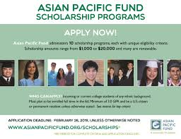 College scholarships for asian americans