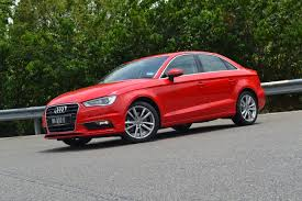 the new audi a3 sedan 1 8 tfsi quattro tested and much approved