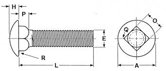 Carriage Bolt Sizes Chart Us Fastener Fasteners Stainless Steel Fasteners Bolts