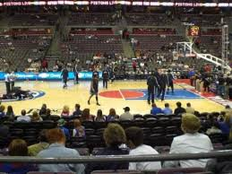 Detroit Pistons Seating Chart Palace Of Auburn Hills The Palace Of Auburn Hills Section 126 Home Of Detroit Pistons