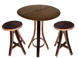 wine barrell furniture. wine barrel table and chair set barrell furniture