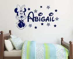 minnie mouse personalised name with stars