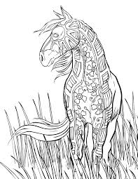 Small Picture Nice Ideas Horse Coloring Pages For Adults 10 Creative Design 17
