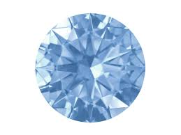 Light Blue Gemstone Swarovski Gemstones Blue Sapphire Round Brilliant Cut 1mm Very Light Blue