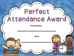 free perfect attendance certificate end of year free perfect attendance for educators attendance
