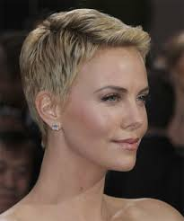 Charlize Theron Short Hair Style very short pixie hair images charlize theron very short hairstyle 7562 by wearticles.com