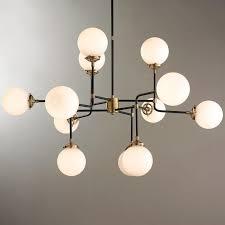 mid century parlor chandelier
