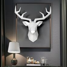 <b>deer head</b> sculpture
