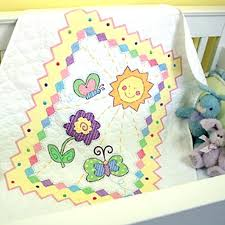 Embroidered Baby Quilts – boltonphoenixtheatre.com & ... Free Printable Baby Quilt Patterns Embroidery Quilt Kits We Ve Added A  New Baby Quilt Embroidered ... Adamdwight.com