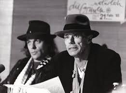 Original photograph of Joseph Beuys and Udo Lindenberg, 1983 | Joseph  Beuys, Lindenberg Udo, subject