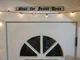 front door lettersHow to Make a Shut The Front Door Sign  Quarto Creates