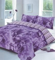 rose fl lilac or teal or red duvet