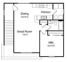 Garage Apartment Plans  1Story Garage Apartment Plan With 2Car Garage With Apartment Floor Plans