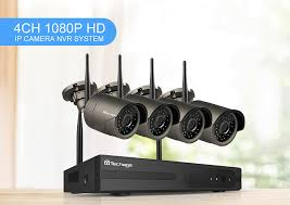 <b>Techage 4CH 1080P</b> Wireless NVR CCTV System <b>1080P</b> 2MP IR ...