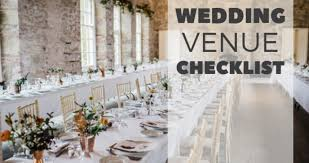 Wedding Venue Questions Wedding Venue Checklist Onefabday Com