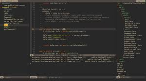 use vim as a java ide spacevim beautiful ui