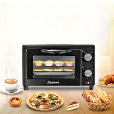 9l Electric Mini Black Oven Table Top Cooker Grill Baking Roast