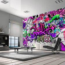 Tapeta Graffiti Graffiti Hiphop Art Dekoracja Decor Tapeta