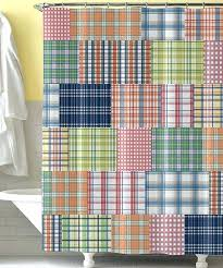 bold shower curtains add a fun touch to any bathroom with this incredibly bold shower curtain the bright design is perfect for a washroom used by a little