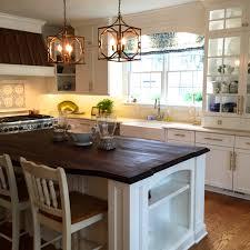 Kitchen Cabinet Display Kitchen Metal Frame Pendant Lamp Set With Plantation Kitchen