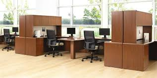 small office furniture. contemporary small office furniture workstation design of 10700 series teaming stations in shaker cherry by hon o
