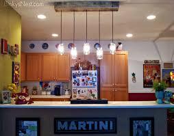 mason jar rustic pallet light fixture diy on binkysnest com