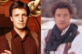 Brendan fraser, one of the most well known of 90's stars, is best known for his lead role in universal's 'the mummy' series. Nathan Fillion In Firefly Brendan Fraser In The Mummy Celebrity Doppelgangers