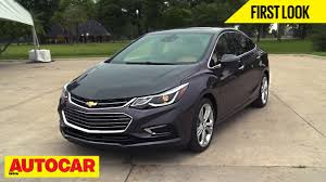 chevrolet new car release2016 Chevrolet Cruze  First Look  Autocar India  YouTube