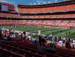 Cleveland Browns Stadium Seating Chart View Firstenergy Stadium Section 112 Seat Views Seatgeek