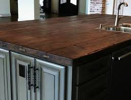 reclaimed wood kitchen island tops and countertops reclaimed wood island top