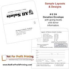 Donation Envelope Sample Layouts Designs For Donation Envelopes And Remittance Envelopes