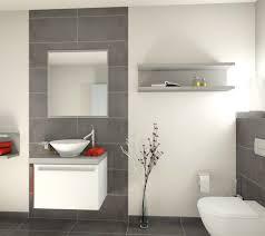 Badezimmer Grauer Boden Weiße Wand Haus Badezimmer Badezimmer