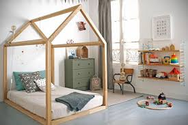 Exceptional A House Framed Floor Bed In A Montessori Inspired Toddler Room