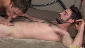 Gay serviced handjob blowjob