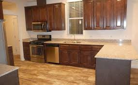 photo 1 of 17 kitchen with stainless steel and granite countertops
