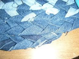 denim rugs how to make a rag rug braided step 9 crochet pattern