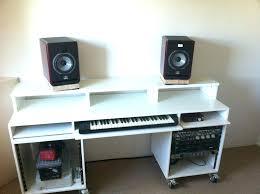 diy studio desk studio recording desk diy studio desk ikea