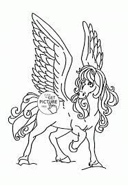 Small Picture Coloring Pages Jumping Horse With Rider Coloring Page Free