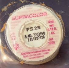 kryolan supracolor pallete refills kryolan supracolor pallete refill back