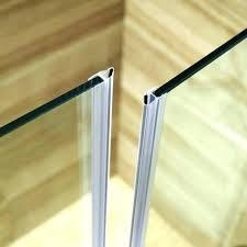 glass shower door sweep awesome shower door seals glass shower door seal awesome shower door seals