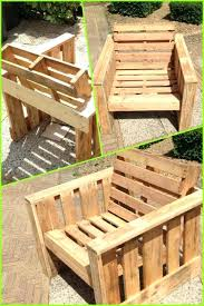 wooden pallet garden furniture. Making Garden Furniture From Pallets Wooden Table Photo Self Made Chair Completely Pallet