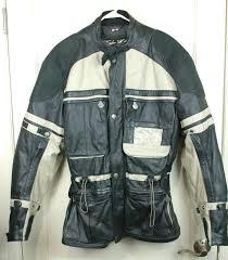hein gericke tuareg black leather motorcycle jacket women s size l items