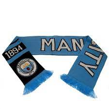 Manchester City Scarf - Blue