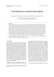 Dcgi Publication Global Illumination Using Photon Ray Splatting