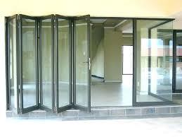 folding sliding glass doors glass doors cost retractable door inte garage lding in patio of how
